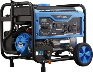 ulsar 5,250W Dual Fuel Portable Generator with Switch and Go Technology